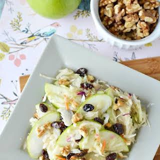 Apple Walnut Salad.