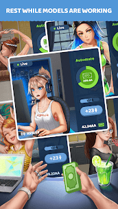 Streamgirls Inc Mod Apk (Unlimited Money) 0.13 3