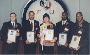 Photo: 2000 Hall of Fame Banquet - The Award Recipients