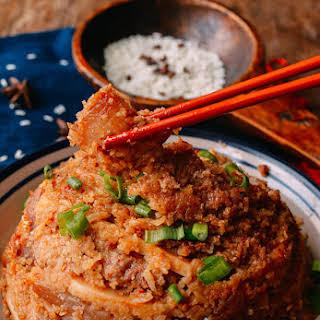 Steamed Pork with Rice Powder (Fen Zheng Rou - 粉蒸肉).