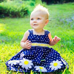 © Sadie Slocum by Sadie Emerson - Babies & Children Babies ( girl, 1 year old, outdoor, baby girl, smile, cute )