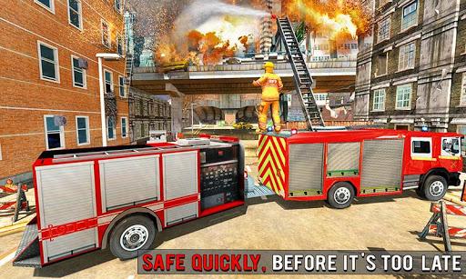 Fire Engine Truck Driving : Emergency Response 1.0.1 screenshots 3