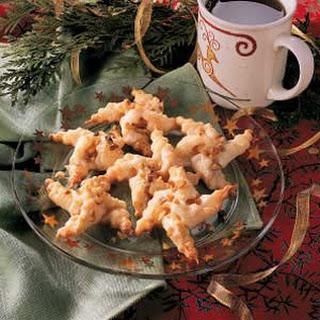 Pineapple Star Cookies.