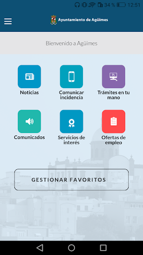 Ayuntamiento de Agüimes screenshot 2