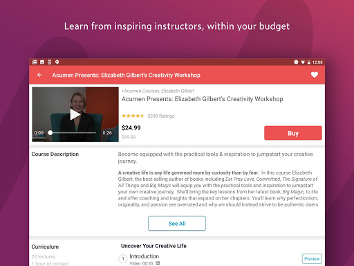 Udemy Online Courses 4.2.0 screenshots 12