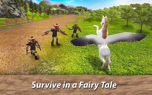 ud83eudd84ud83cudf08u2764ufe0f Pegasus Simulator: Flying ud83dudc0e Horse Survival 1.1 screenshots 4