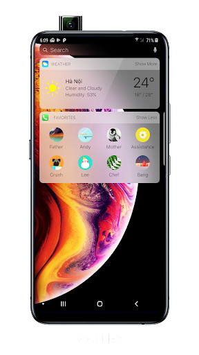 Launcher iOS 12 2.2.9 screenshots 2