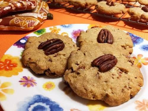 "Butter Pecan Cookies ""These cookies are easy to make with wonderful flavor!..."
