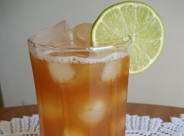 Sweet Lime Iced Tea Recipe