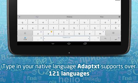 Adaptxt Free Keyboard Screenshot 10