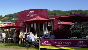 McCartneys at Berriew Show