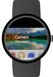 Photo Gallery for Android Wear APK screenshot thumbnail 2