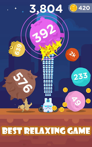 Alien Shooter: Bounce Ball Blast, Jump Ball Shoot - screenshot