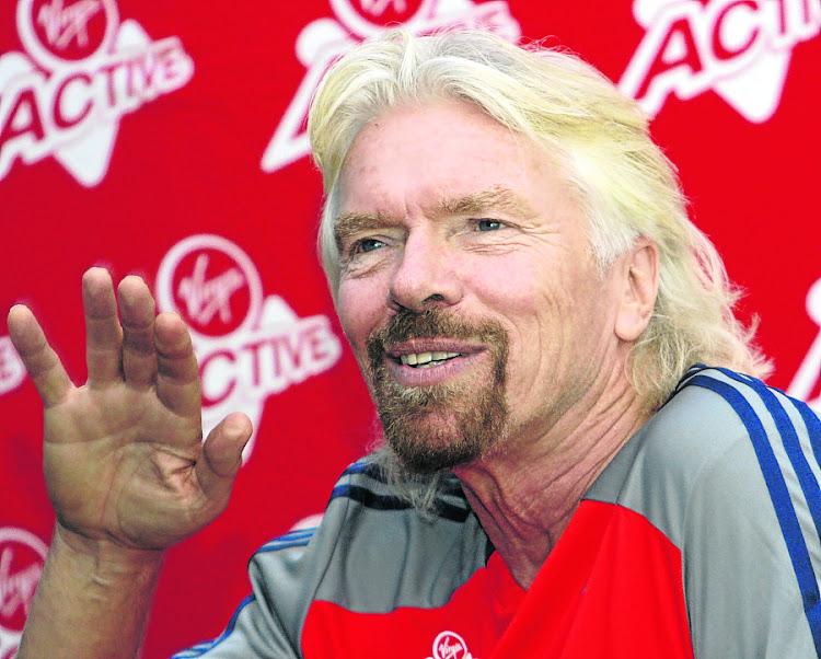 Sir Richard Branson, head of Virgin Galactic. Picture: PUXLEY MAKGATHO