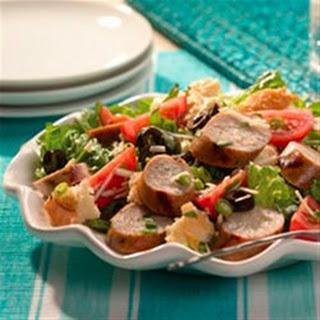 Sweet Italian Chicken Sausage Panzanella