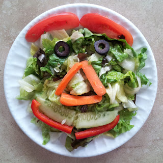 Smiley Face Salad