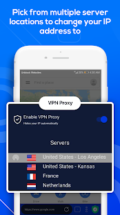 Unblock Websites: Free VPN Proxy Browser