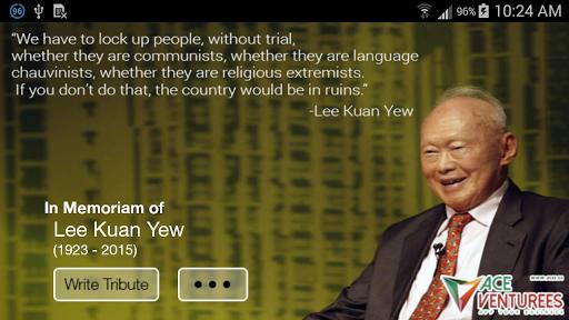 In Memoriam of Lee Kuan Yew