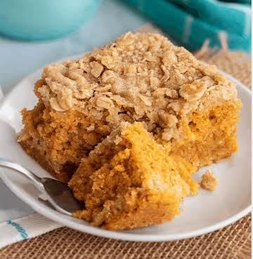Pumpkin Crumb Cake - YUMMM! - Southern Plate
