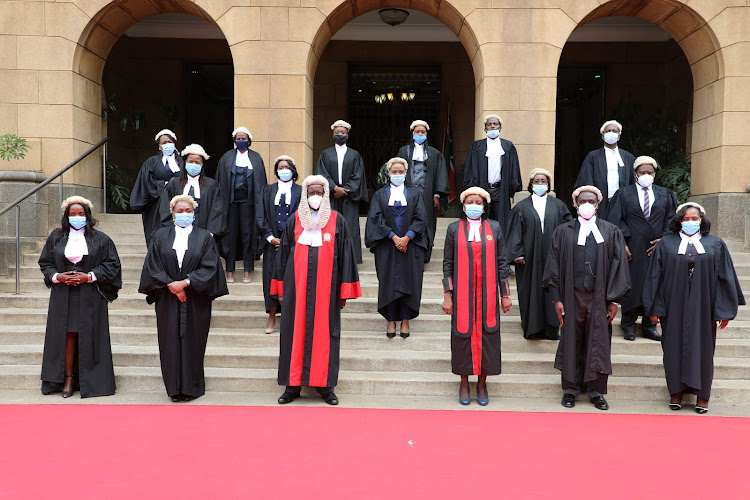 The CS is among the 198 advocates admitted by the Chief justice David Maraga at the Supreme Court.