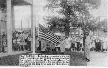 Photo: Post Office Dedication 1961