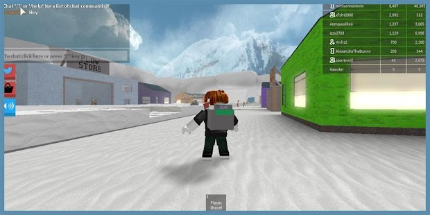 Guide Of Snow Shoveling Simulator Roblox - náhled