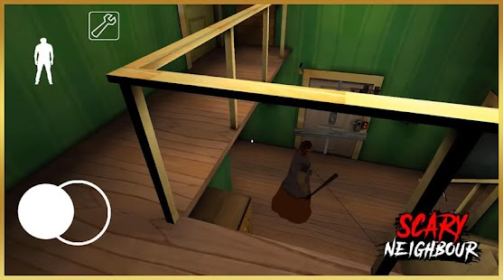 Neighbor Granny Rich 2 : Scary Escape Horror Mod Screenshot