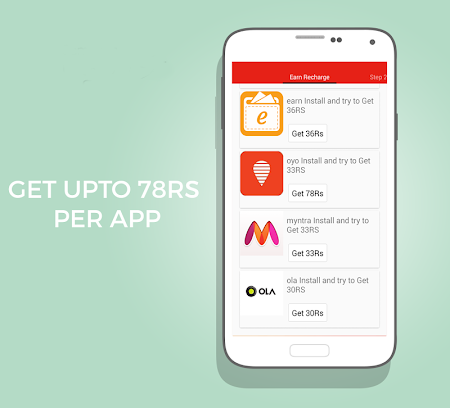 Free Recharge App - Earn 250Rs 0.9 screenshot 513301