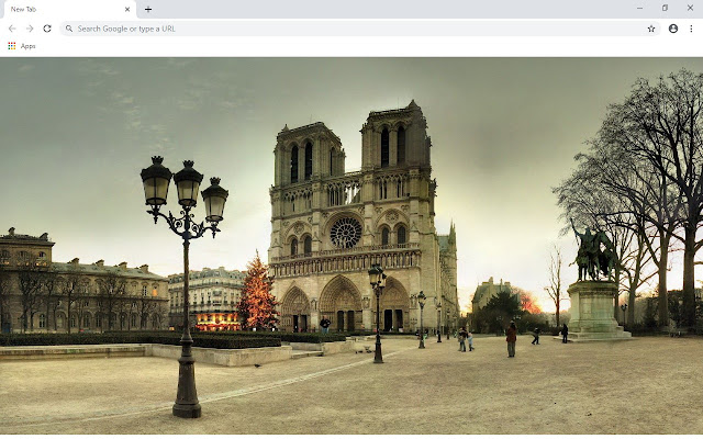 Notre Dame Cathedral New Tab