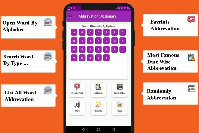 Abbreviation Dictionary – (Android Εφαρμογές) — AppAgg