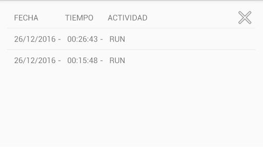 Chronometer activity 5.0 screenshots 3