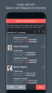 Contacts Optimizer Screenshot