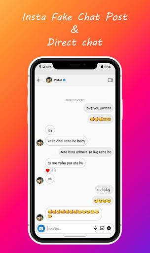 Chat apk instagram fake FakeStory