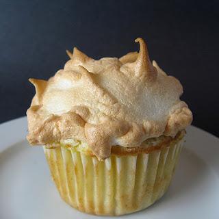 Pineapple Meringue Cupcake.