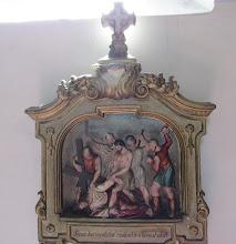 """Photo: *IX. stáció: Jézus harmadszor esik el a kereszttel  """"Erőm, mint a cserép, kiszáradt, nyelvem ínyemhez tapadt, lesújtottál a halál porába"""" (Zsolt 21,16)"""