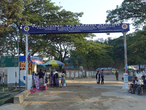 インド・バングラディッシュ国境(インド側)