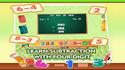 Learning Math Subtraction Game 1.4 screenshots 2