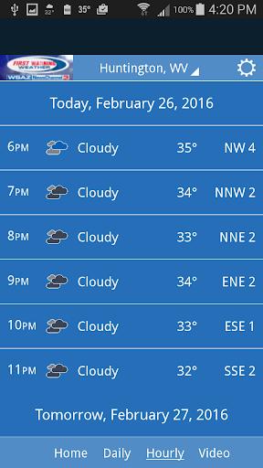 玩免費天氣APP|下載WSAZ Weather app不用錢|硬是要APP