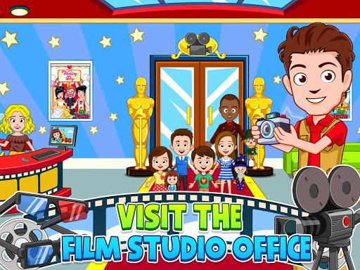 My Town : Cinema. Fun Movistar Kids Movie Night  screenshots 9