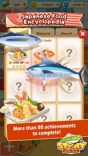 Sushi Master - Cooking story  captures d'u00e9cran 3
