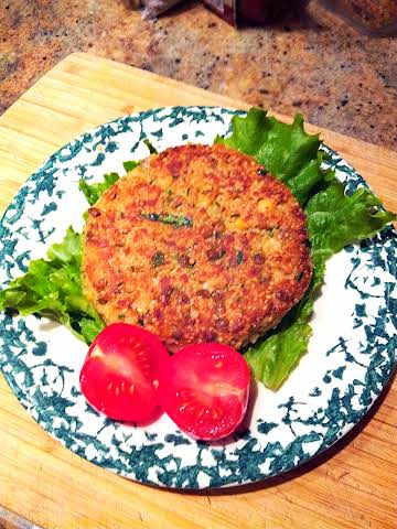 French Lentil Burgers