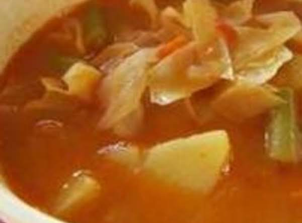 Mom's Cabbage Vegetable Soup