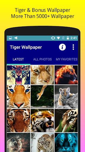 Tiger Wallpaper HD Free  screenshots 1