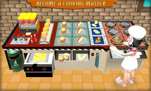 Virtual Chef Cooking Simulation  captures d'u00e9cran 2