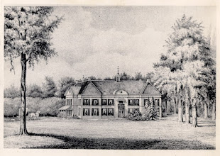 Photo: 1852 Huize of kasteel Bosdal. Stichter van het landgoed was jonkheer Hendrick Cannaerts, heer van Emer in 1648. Bekendste bewoner was Alexander, Graaf van Bijlandt, commandant van de vesting Breda (overleden in 1819). Kasteel omstreeks 1770 gebouwd, in 1825 volledig herbouwd en in 1946 gesloopt.