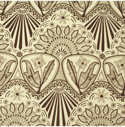 Art Nouveau Smalspårig Manchester - ljusgrå