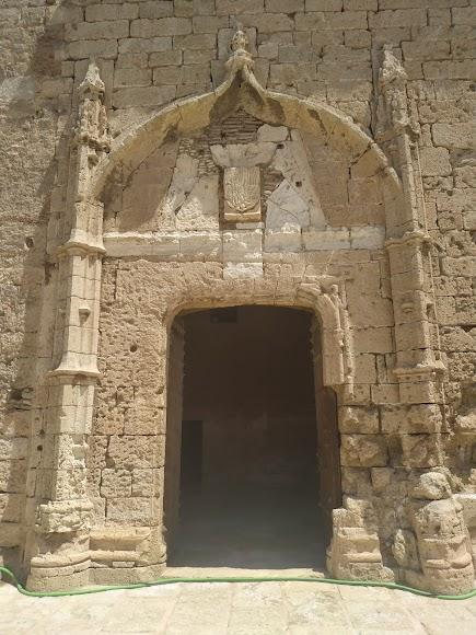 Fachada de la Torre del Homenaje del tercer recinto
