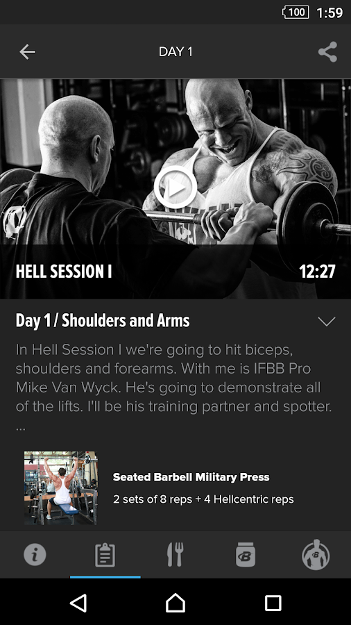 Hellraiser Training by Animal- screenshot