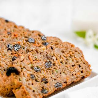 Healthy Morning Glory Zucchini Bread Recipe