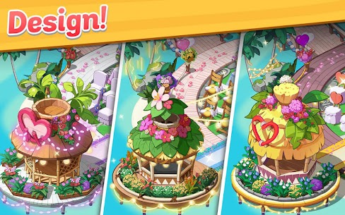 Ohana Island MOD APK 1.5.2 [Menu Mod] Blast flowers and build 9